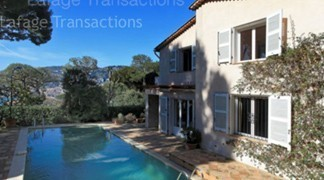 Villa and swimming pool saint jean cap ferrat